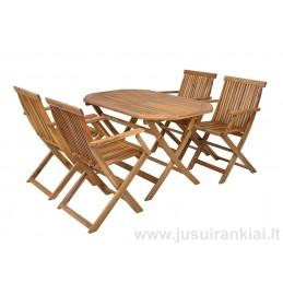 Lauko baldų komplektas HECHT BASIC SET 4