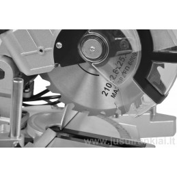 HECHT 814 pjovimo staklės 1,4kW