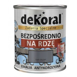 Emalis antikorozinis 2,5ltr. sp. vid.rudas DEKORAL