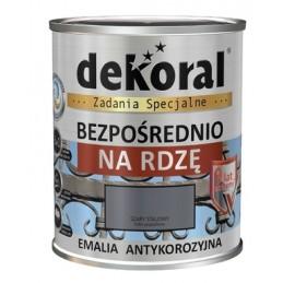 Emalis antikorozinis 0,65ltr. sp. ruda šokoladinė DEKORAL