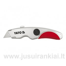 Peiliukas su išstumiamais trapeciniais ašmenimis YATO YT-7520