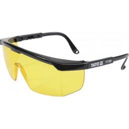 Apsauginiai akiniai geltono stiklo YATO YT-7362