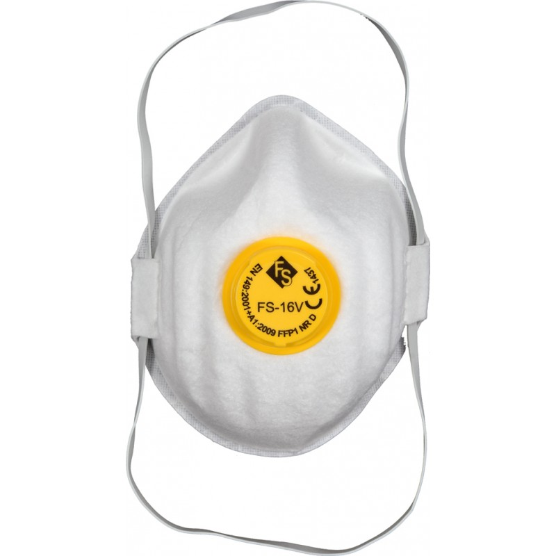 Respiratorius-kaukė su vožtuvu FFP1, CDC3V VOREL Y-74541