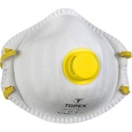 Respiratorius-kaukė su vožtuvu 2vnt. FFP2 TOPEX T-82S132