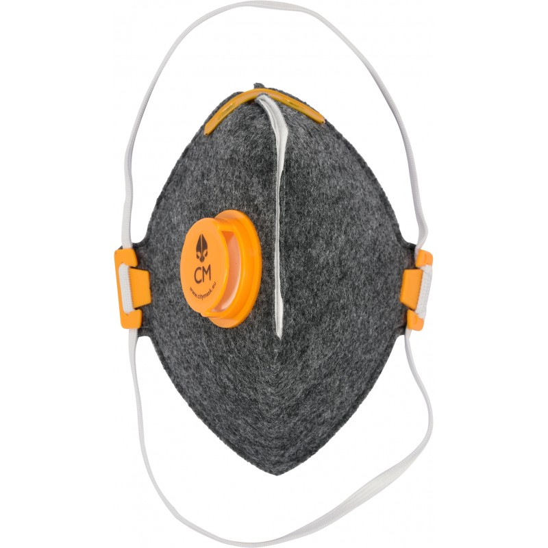 Respiratorius-kaukė su vožtuvu VZ/PZ VOREL Y-74555