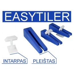 Intarpas 3mm. plytelėms 200vnt. EASYTILE E-199077
