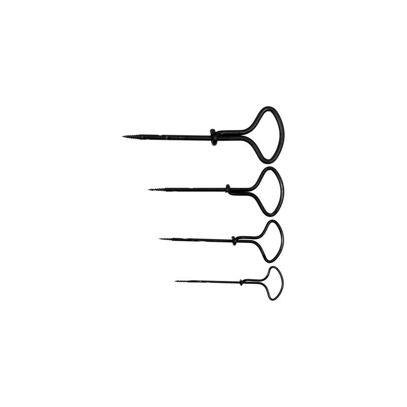 Ylų Ø2,0/3,0/4,0/5,0mm.rinkinys 4vnt. medžiui VOREL Y-22431