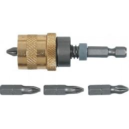 """Galvutės automatinis ribotuvas 60mm. gipso plokštei, 1/4"""" TOPEX 39D340"""