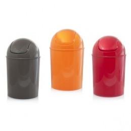 Šiukšliadėžė plastikinė įvairių spalvų HR16429