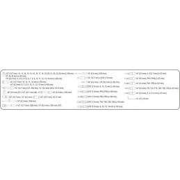 Įrankių rinkinys 94vnt. STHOR Y-58687
