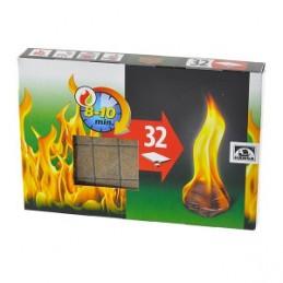 Įdegtukai ugnies 32vnt.