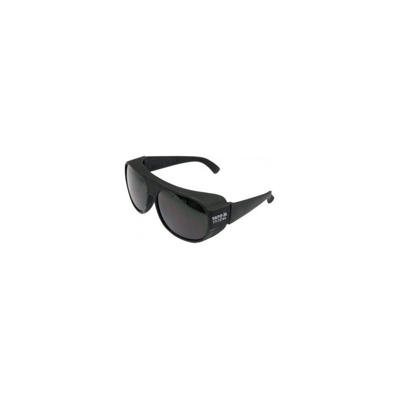 Apsauginiai akiniai labai tamsūs YATO YT-73744