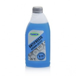 Aušinimo skystis -35°C, 1ltr. G11 mėlynas ANTIFREEZE, SAVEX