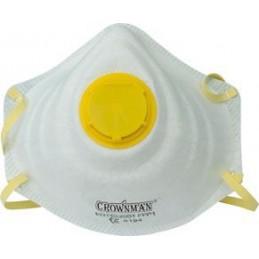 Respiratorius su filtru, 1vnt. FFP2/NR, CROWNMAN