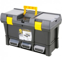 Dėžė įrankiams plastikinė 525x256x246mm. VOREL Y-78814
