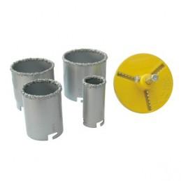 Grąžtai betonui 6vnt. 33, 53, 67, 73mm. volframas CROWNMAN 0160806