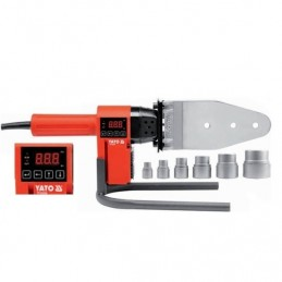 Suvirinimo aparatas 850W termoplasto vamzdžiams (PVC) YATO YT-82250