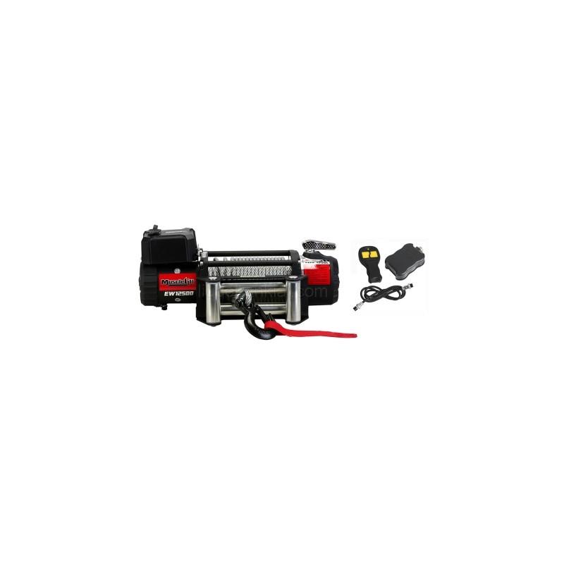 Elektrinė gervė (Muscle Lift) EW12500, 12V (Radio valdymas)