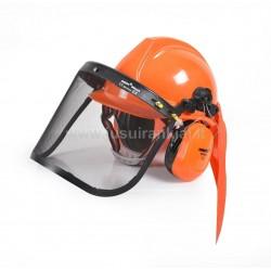 HECHT 900100 apsaugos šalmas su ausų ir veido apsauga