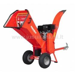 HECHT 6642 šakų smulkintuvas benzininis 15 AG/11,2 kW
