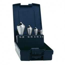 Gilinimo grąžtų (su kiaur.) rinkinys 4vnt. (2-20mm)