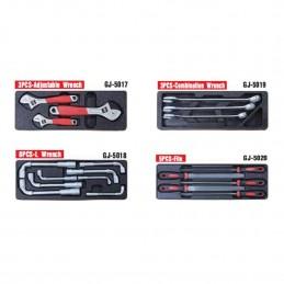 Įrankių spintelė su įrankiais, su ratukais, 269vnt.