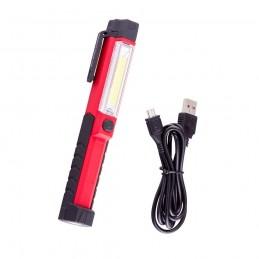 Prožektorius darbui COB (1.5W) + LED1 (įkraunamas)