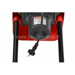 HECHT 624 šakų smulkintuvas elektrinis 2,4 kW