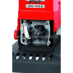 GRIZZLY GHS 2842 B elektrinis šakų smulkintuvas 2800 W