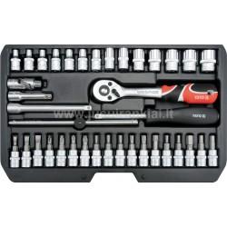 YATO CrV 38 vnt. įrankių rinkinys