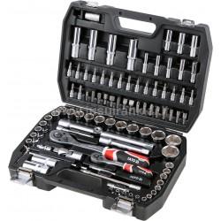 YATO CrV 94 vnt. įrankių rinkinys