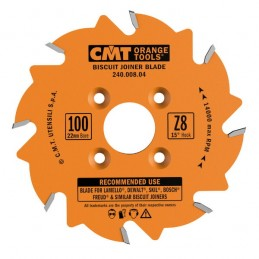 BISCUIT JOINER SAW BLADE 100X3.96X22 Z6 ATB, CMT