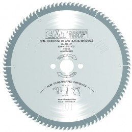 SAW BLADE FOR NON-FERROUS METALS AND PLASTIC HW 216X2.6/2.2X, CMT