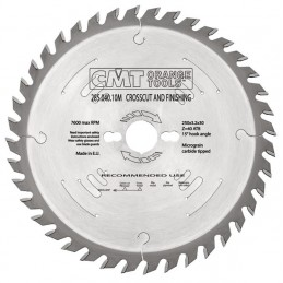 Diskas pjovimo 315x2,8x30 Z54 HM, CMT