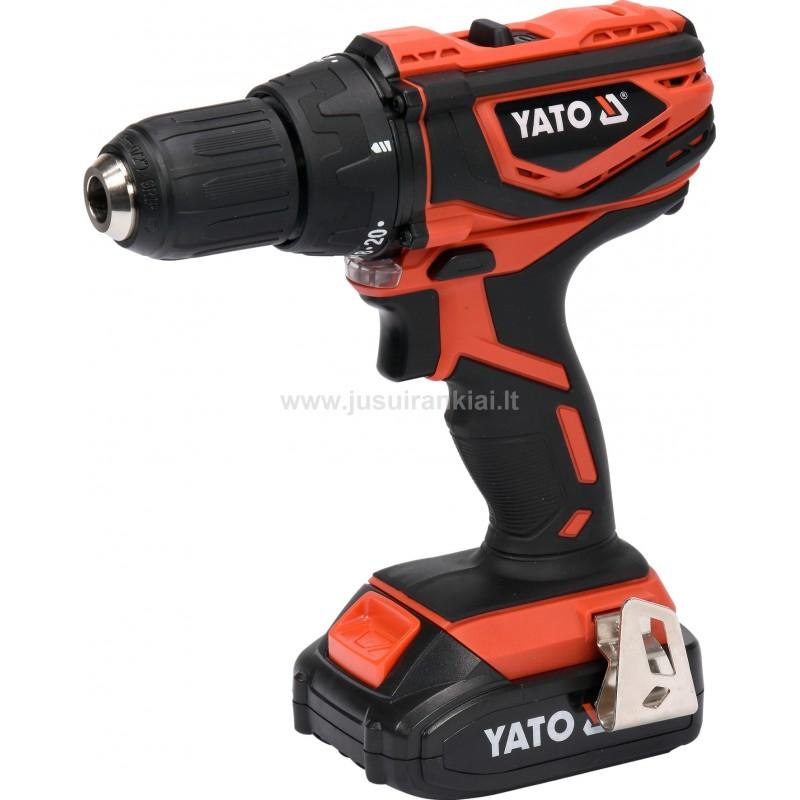 YATO YT-82782 gręžtuvas akumuliatorinis 18V Li-ion