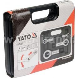 YATO YT-0585 rinkinys veržlių skaldymui 4 vnt.
