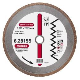 Deimantinis pjovimo diskas 230x22,23 mm, professional, TP, Metabo