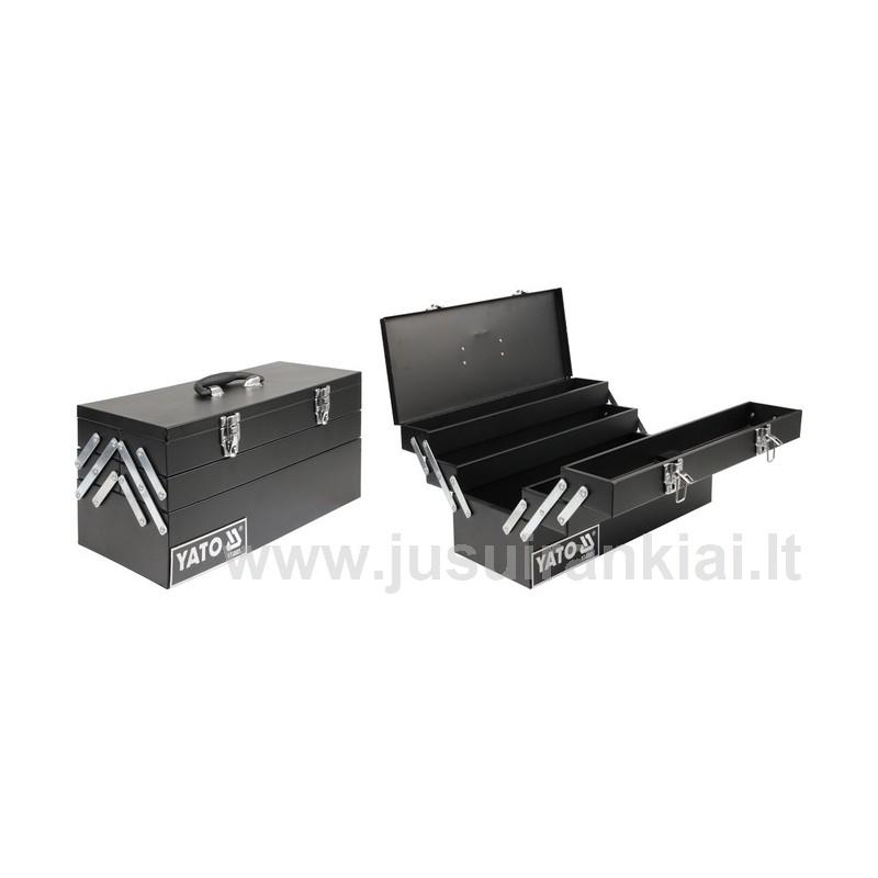 Dėžė įrankiams, metalinė Yato YT-0558