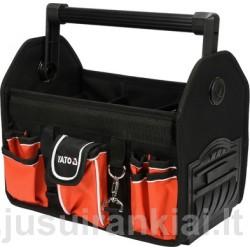 """Krepšys įrankiams 13"""", su rankena, 17 kišenių Yato YT-74372"""