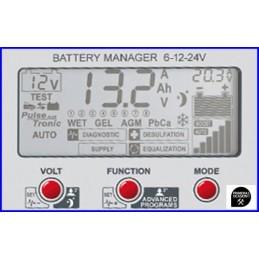 6-12-24V elektroninis įkroviklis Doctor Charge 50, Telwin