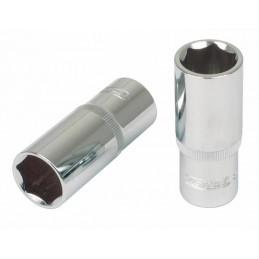 Galvutė, šešiakampė, ilga 1/4´´ 6mm CHROME+, KS tools