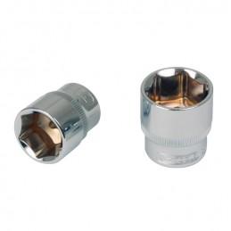 """Galvutė 3/8"""" CHROMEplus, ilga, 12mm, KS tools"""