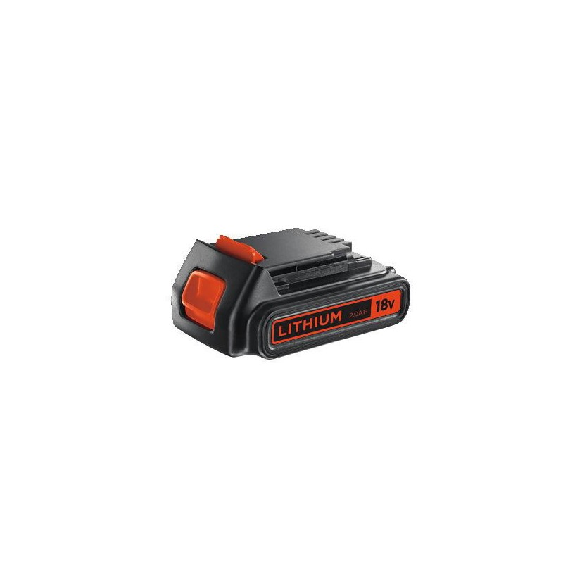 Akumuliatorius 18V 2,0 Ah Li-ion, Black+Decker
