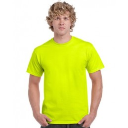 Marškinėliai Gildan 2000 geltona 2XL