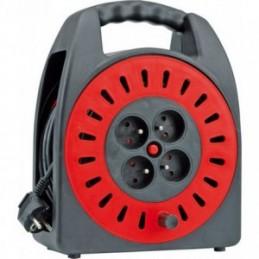 Prailgintojas elektros 15m. 4 lizdų 3x1,0mm2 VOREL Y-72570