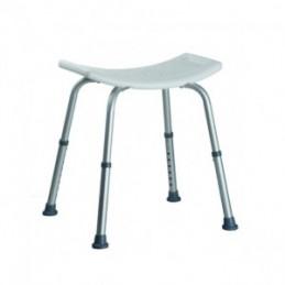 Kėdutė dušui reguliuojama 51x45x56cm.