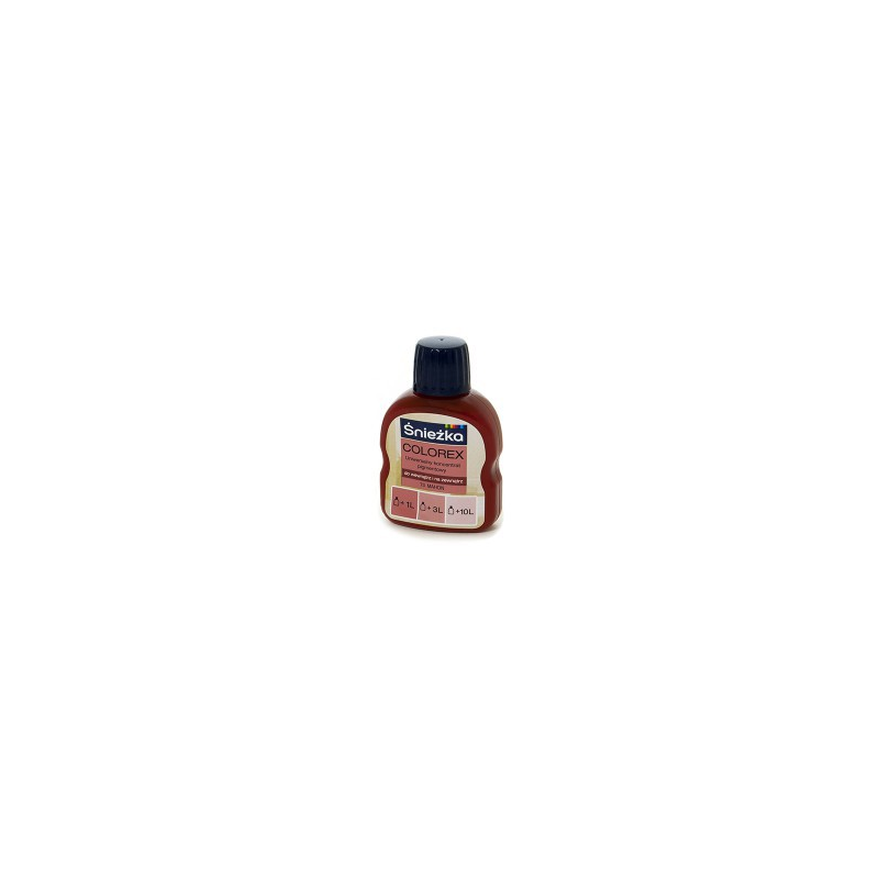 Pigmentas 100ml. COLOREX raudonmedis N73, SNIEŽKA