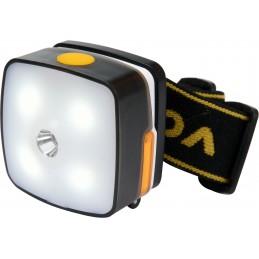 Prožektorius 3W dedamas ant galvos, XPE CREE 4SMD LED Li-Ion AKU USB VOREL Y-88677