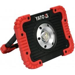 Prožektorius 800lm. akumuliatorinis, šviesos diodų YATO YT-81820
