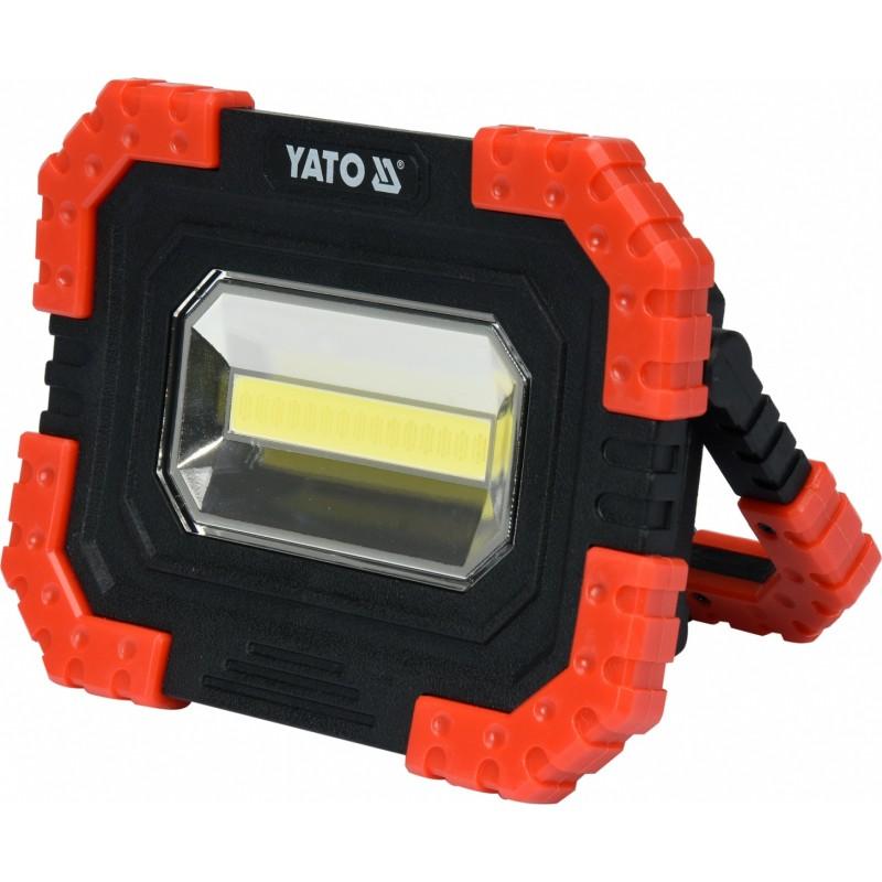 Prožektorius 680lm. akumuliatorinis, šviesos diodų YATO YT-81821